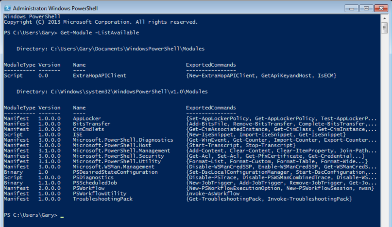ExtraHop API Client for Windows PowerShell (Legacy